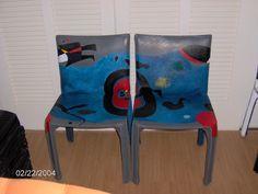 COLEÇÃO MIRÓ IIIC | Flickr - Photo Sharing! Chair, Furniture, Home Decor, Art, Craft Art, Room Decor, Kunst, Stool, Home Interior Design