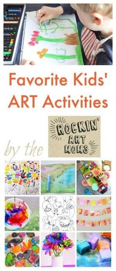 Favorite Activities for Children by the Rockin' Art Moms by mariagabriela