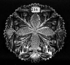 3a13db68df6d 95 Top E. Libbey Early Cut Glass - Toledo