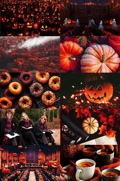 a morbid longing for the picturesque at all costs — Halloween at Hogwarts aesthetic (more)