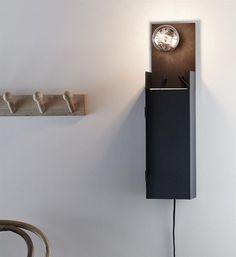 Sklep z lampami - COMBO black kinkiet Retro Vintage, Wall Lights, Lighting, Home Decor, Appliques, Decoration Home, Room Decor, Lights, Home Interior Design