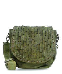 Taschendieb Wien Shoulder Bag green-TD0807g-32