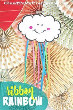 Cinta de arco iris - Kid Craft / w para imprimir gratis