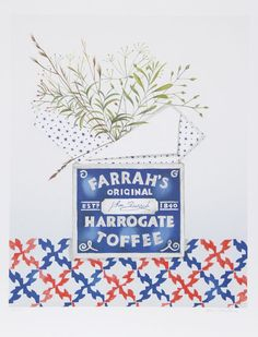 Mary Faulconer, Farrah's Harrogate Toffee, Lithograph