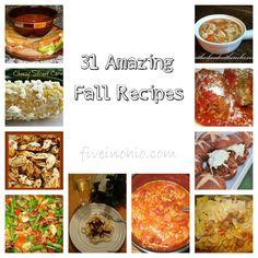 31 Amazing Fall Recipes