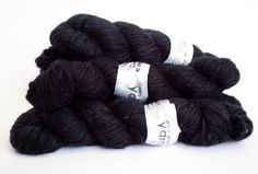 Filato di lana di Yak in nero di PenandHook su Etsy