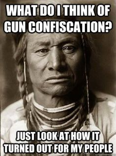 The first time the government took guns away see what happened to them. Lies !Lies!