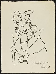 Just now I& looked up two of my favorites: Matisse and Van Gogh. Here& a sample of a Matisse drawing- Matisse Drawing, Learn To Draw, Looking Up, Van Gogh, Learning, Drawings, Artist, Learn Drawing, Studying