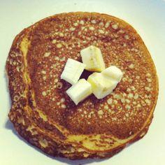 """#Recette de #pancakes #vegan et sans #gluten du blog """"biobeaubon.com"""""""