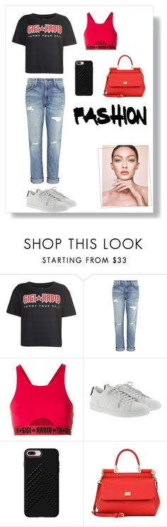 """""""Fashion"""" by at-39thst-fashion ❤ liked on Polyvore featuring Tommy Hilfiger, Current/Elliott, Yves Saint Laurent, Rebecca Minkoff and Dolce&Gabbana"""