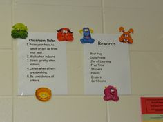 Classroom Rules and Possible Rewards for following the Habits and being a Leader!