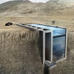 Open Platform for Architecture presents the ambitious Casa Brutale, an innovative conceptual home offering stunning views of the Aegean Sea from its cliffside setting. Drop by our site for a closer look.