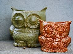 Hey, I found this really awesome Etsy listing at https://www.etsy.com/listing/233560747/ceramic-owl-planter-utensil-holder