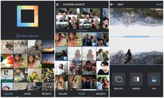 Instagram's popular Layout collage app now available on Android #backcountrynavigator #crittermapsoftware #androidappdeveloper #androidapps