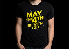 New Gildan T-Shirt May The 4th Be With You by CreativeIndonesia