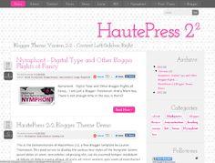 Free Blogger Template.... so adorable