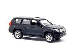 Welly NEX Toyota Land Cruiser Prado Black 1:60 1:64 No. 52285 3-inch Toy Car #Welly #Toyota Toyota Land Cruiser Prado, Diecast, Vans, Black, Black People, Van