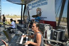 Amazing cast of US and Mexican artists on stage at the San Felipe Blues and Arts Fiesta 2014 #sanfelipe #sanfelipebluesandarts
