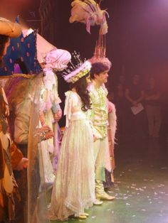 Lee and Peach Coyne -the final curtain in Robin Hood panto