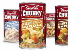 There's A Storm Coming! Campbell's Chunky Soup Or Chili $0.80 Off Any Four Cans With Printable Coupon!