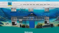 Quirky responsive, e-commerce website for Eithnas Seafood Restaurant in Mullaghmore, County Sligo, designed and built by www. Seafood Restaurant, Website, Drinks, Building, Design, Drinking, Buildings, Drink, Construction