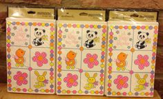 3 Pkgs of Mod Hallmark Baby Shower Party by TheHodgePodgeSoup