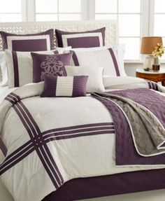 Ryland 10-Pc. Full Comforter Set | macys.com