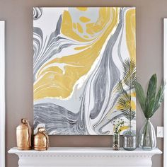 Gold Gilded Marble Canvas: Glam up your Wall Art with @photowall_sweden   #diy #gold #gilding #marble #marbling #canvas #wallart #glam #boho #bohostyle #modern #abstractart #decor #decorideas #decorinspiration #decorhome #decorationggoals #homedecor #homedesign #homestyle #homedecoration #homestyling #inspirationoftheday #instastyle #details #instacool #lookstyle #prettythings #inspiration