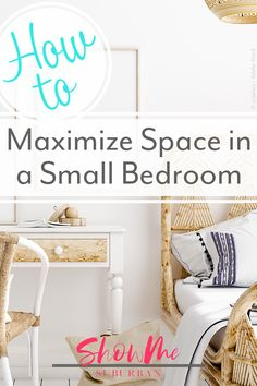 8 Easy Ways to Maximize Space in a Small Bedroom I needed some tips and ideas for how to save space in my small bedroom. This article gave me so much info on tiny bedroom storage and organization hacks! It helped me maximize the space in my room. Purple Bedrooms, Blue Rooms, Blue Bedroom, Bedroom Wall, Bedroom Decor, Bedroom Ideas, Master Bedroom, Bedroom Brown, Woman Bedroom
