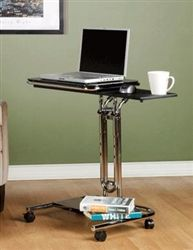 Check out this awesome ergonomic workstation. This mini mobile computer stand by Calico Designs is super affordable at only $129.99 with FREE shipping from OfficeAnything.com! #LaptopStand #MobileComputer #TeachersAid #TeacherSupply