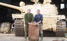 Increíble: compra un tanque de guerra por Ebay y descubre que tenía un tesoro dentro #Virales #coleccionista #CosasIncreibles #ebay #oro