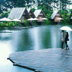 Dusun bambu, Bandung, West java.