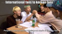 Ah the struggles of international fans