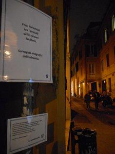 Improvvisazioni bolognesi. Così comparve una fermata della poesia errante in via del Pratello.
