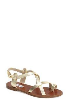 Steve Madden 'Agathist' Leather Ankle Strap Sandal ...