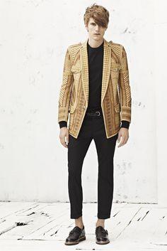Balmain Spring/Summer 2013 Menswear Collection.