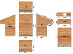 Plan nichoir à balcon