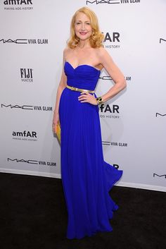 Patricia Clarkson amfAR Gala 2013 Celebrity Red-Carpet Dresses | Pictures | POPSUGAR Fashion