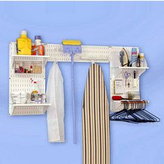 Laundry Room Organization - Deluxe Laundry Room Organizer Kit by Simply Organized | KitchenSource.com