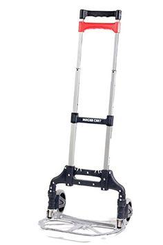 Magna Cart MCX robuste, faltbare Sackkarre aus Aluminium, kompakt, platzsparend, leichtgewichtig, Ladekapazit�t 68kg