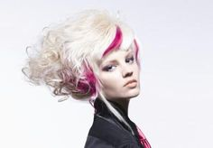 CHI hair color pop in Fuchsia Farouk Systems, I Like Your Hair, Magazine Articles, Color Pop, Fashion Art, Hot Pink, Hair Color, Hair Beauty, My Favorite Things