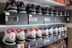 Jordan 3 collection #infrared #militaryblue #blackred