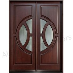 This is Latest Dayyar Wooden Double Door With Glass Football Design. Code is Product of Doors - This is very running design now a days and very popular in all over the world, available on order in Dayar Wood, Ash Wood, Kail wood. Al Habib Glass Panel Door, Panel Doors, Glass Panels, Wooden Double Doors, Double Front Doors, Cafe Seating, Door Design Interior, Door Entryway, Exterior Front Doors