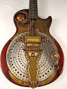IonoGlobe electric guitar - Tony Cochran Custom Electric Guitars