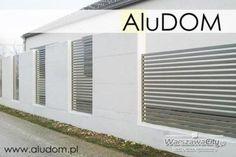 Nowoczesne ogrodzenie aluminiowe Nouveau.