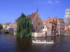 "#Travel Bruges's seaside area is called Zeebrugge, which means ""Bruges on the Sea"". The port of Bruges has an important role in the economy of Belgium."
