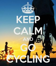 KEEP CALM AND GO CYCLING #cycling #motivation #fit MiPlanForLife's mission is simply to help #Australians get Personal #Insurance tailored to their needs. #MiPlanForLife Victoria, Australia www.facebook.com/MiPlanForLife