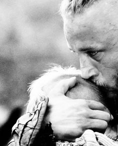"""I have a son about your age….I do not know where he is. That is by his choice.""  Travis Fimmel - Ragnar, Vikings Ep. 02"