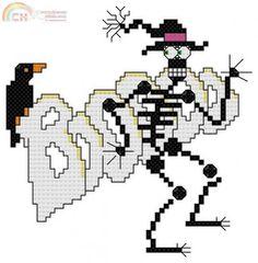 boo skeleton *