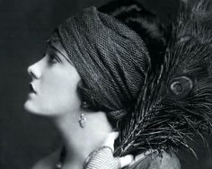 Gloria Swanson in a headscarf   |  #1920s #CandySays